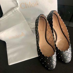 Chloe Ballerina Flats (Size 40)